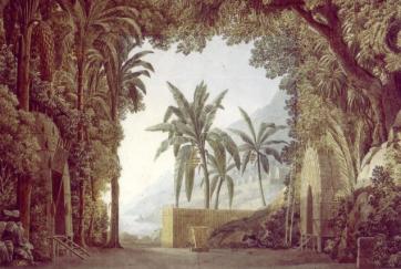 Les décors d'opéra à la fin du XVIIIe siècle et au début du XIXe siècle