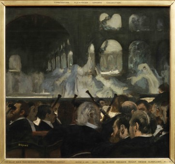 The Ballet Scene from Meyerbeer's Opera ÔÇÿRobert Le DiableÔÇÖ Edgar Degas (1834-1917) Oil on canvas, 1876 -® Victoria and Albert Museum, London