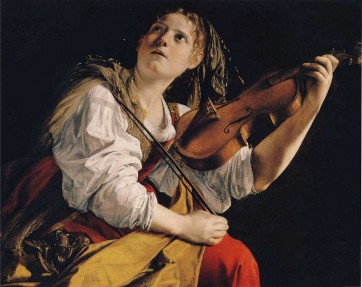 800px-Orazio_Gentileschi_-_Young_Woman_Playing_a_Violin