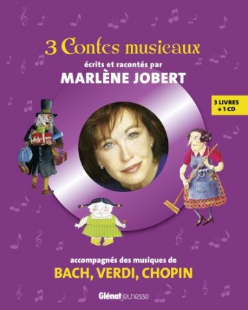 3 contes musicaux glénat