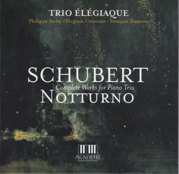 Schubert Trios Élégiaque