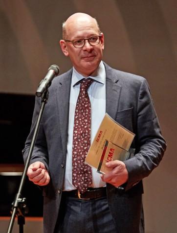 Le président d'Outhere Charles Adriaenssen, prudemment optimiste
