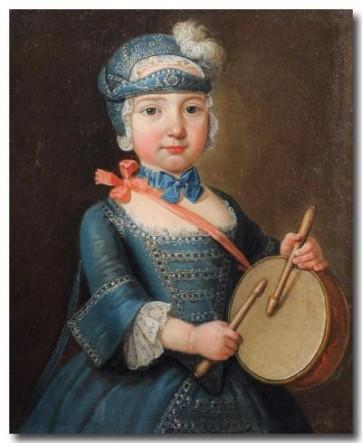 anonyme, École Française du XVIIIème siècle - Portrait de Michel Gabriel Alexis de Bau Benard, huile sur toile, 60 x cm