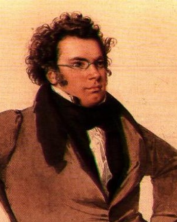Franz Schubert 1825 Wilhelm August Rieder