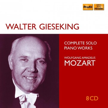 Gieseking - Mozart profil