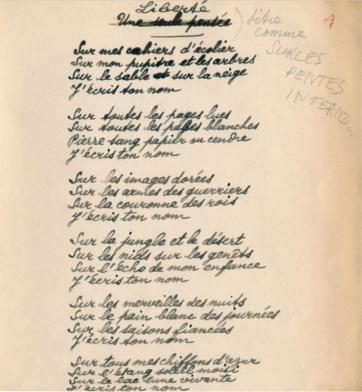 Figure Humaine de Poulenc, l'épopée de la liberté