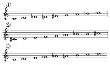 Le mode octotonique (ou mode II de Messiaen)