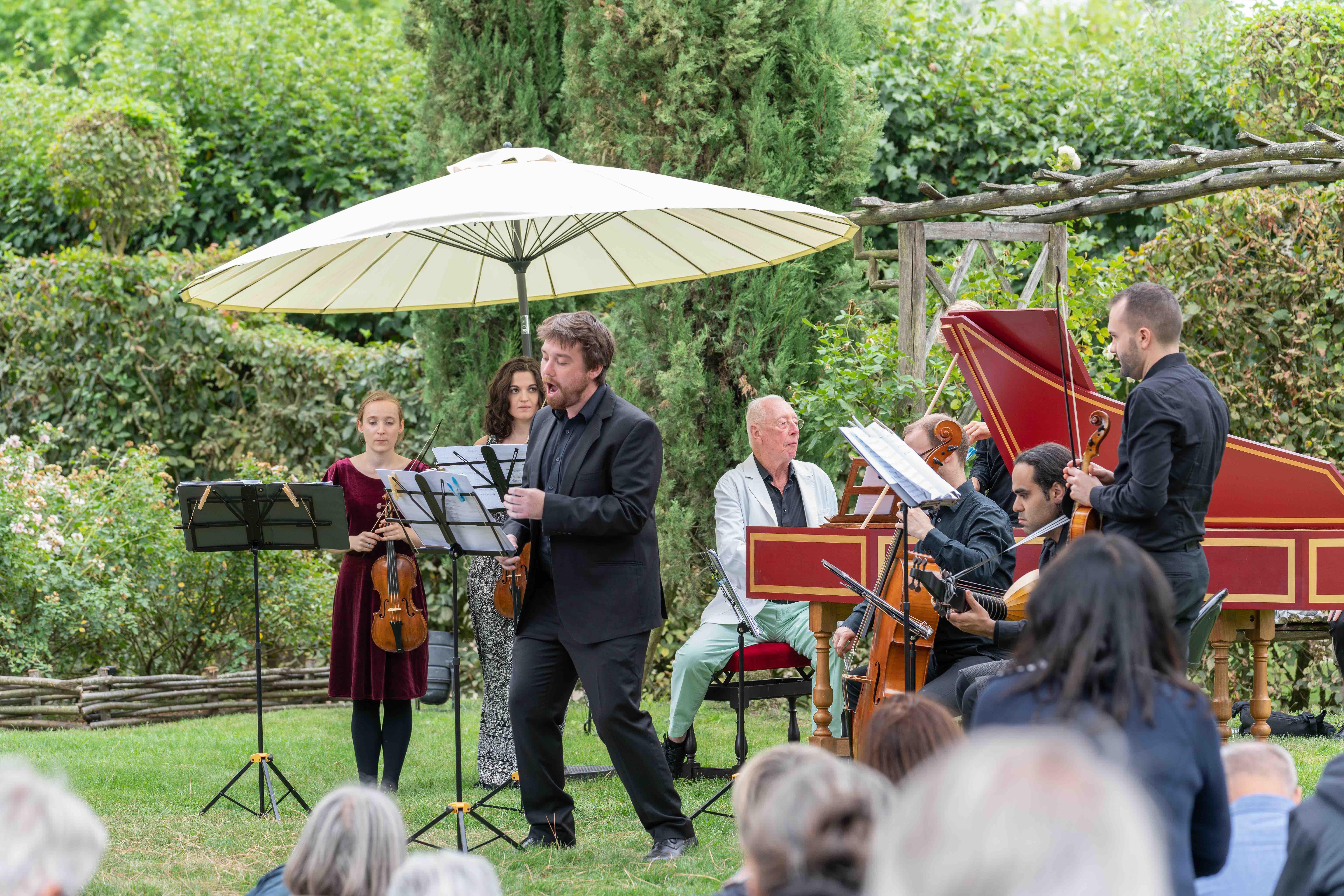 Rencontres musicales dans les jardins de william christie - Festival dans les jardins de william christie ...
