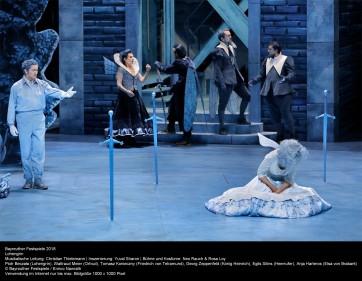 Un Lohengrin bleu pour Piotr Beczała à Bayreuth