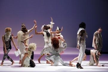 Mié Coquempot danse l'art de la fugue à Royaumont