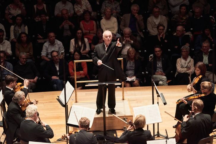 """Concert à la Philharmonie de Paris le 06/09/2018 dans la grande salle Pierre Boulez. Biennale Pierre Boulez. Concert de Daniel Barenboim - Staatskapelle Berlin, seconde partie : Igor Stravinski """"Le Sacre du printemps"""""""