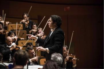 Gustavo Dudamel et le Mahler Chamber Orchestra dans Mahler