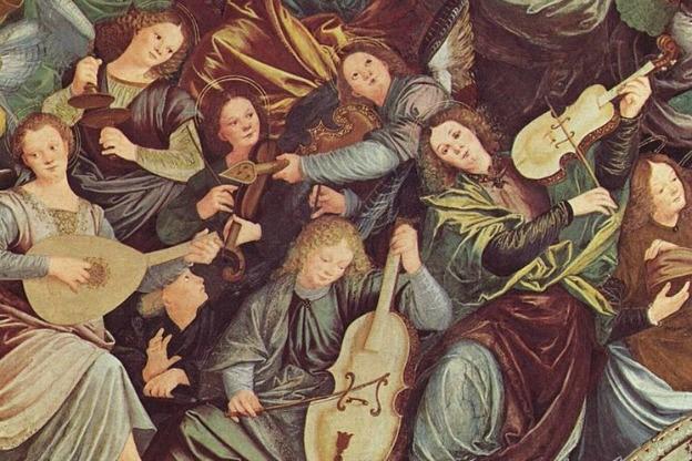 Gaudenzio Ferrari, Madonna degli aranci (1535)