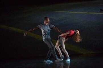 Benjamin Millepied danse avec LA