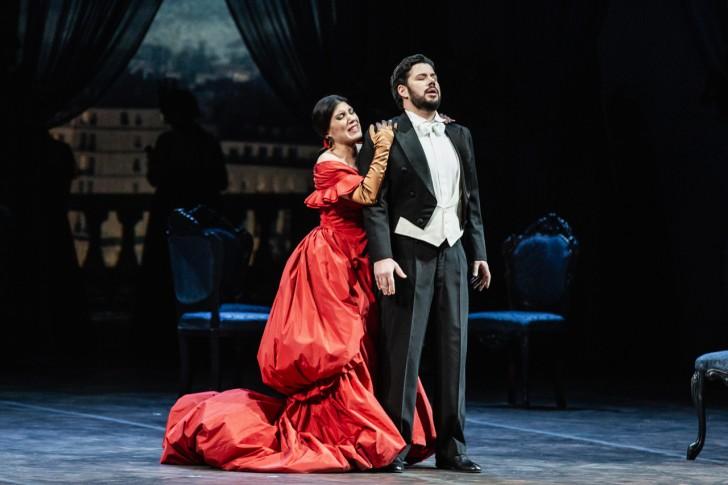 La traviata_Claudia Pavone (Violetta), Antonio Poli (Alfredo)_Yasuko Kageyama-Opera di Roma 2018-19_6576 WEB