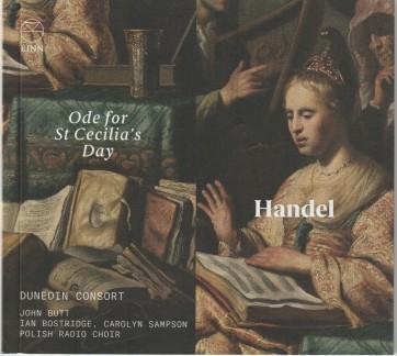 Hændel Ode à Ste-Cécile John Butt