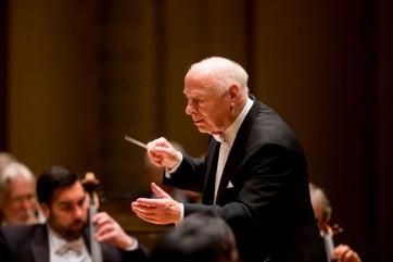 Bernard Haitink dirige le LSO à la Philharmonie de Paris