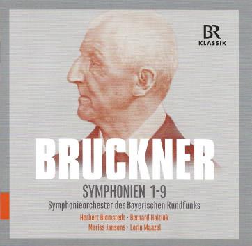 Bruckner symph 1-9 RSO BR Klassik