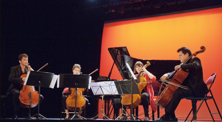 Bolero de Ravel à 4 violoncelles