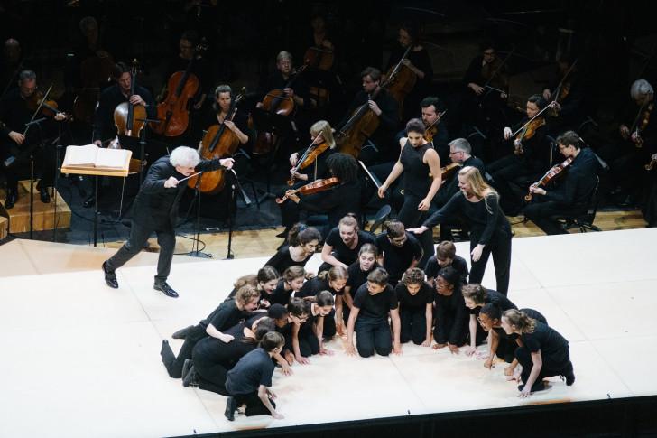 """Concert """"la petite renarde rusée"""" du London Symphony Orchestra, le 2 Juillet 2019 à la Philharmonie de Paris."""