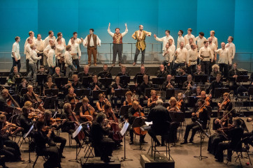 Le roi Hector 150ᵉ anniversaire-acte 2 / Du 17 août au 1ᵉʳ septembre 2019 à La Côte-Saint-André - Isère / © Festival Berlioz/Bruno Moussier