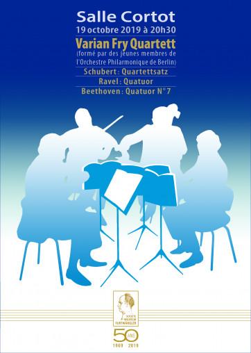 Affiche du Quatuor finale