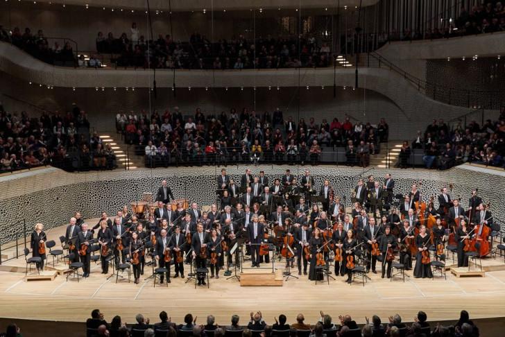 Philharmonisches Staatsorchester Hamburg, Chor der Hamburgischen Staatsoper, Kent Nagano, Elbphilharmonie, Großer Saal, 17.11.2019