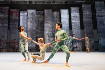 Ballet Rambert - Miguel Altunaga, Hannah Rudd, Dane Hurst, Stephen Wright and Antonette Dayrit. ∏Tony Nandi