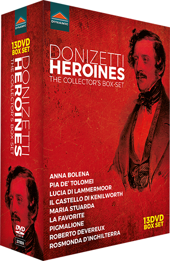 donizetti heroines coffret dynamic