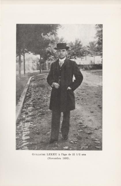 Guillaume Lekeu - Marthe Lorrain 1923