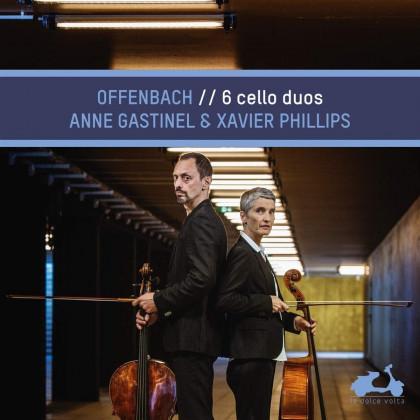 Offenbach_Cello Duos_Gastinel_Phillips_La Dolce Volta