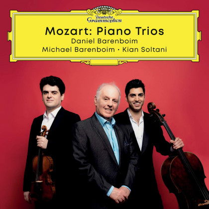 Wolfgang Amadeus Mozart_Daniel Barenboim_DG