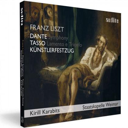 Franz Liszt Künstlerfestzug - Tasso - Dante Symphony_Karabits_Audite