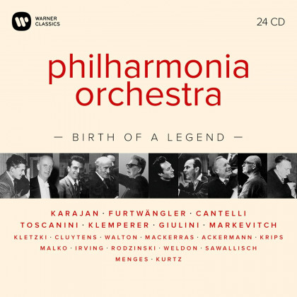 Philharmonia Orchestra - Birth of a Legend - Warner Classics