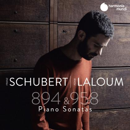 cover HMM902660 - Adam Laloum - Franz Schubert Piano Sonata D.958 894