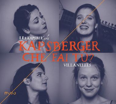 MU-037 Kapsberger, Villanelles (Les Kapsber'girls) - Cover