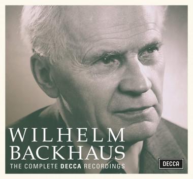 Wilhelm Backhaus_coffret_Decca_front