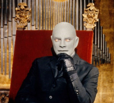 1966 --- Jean Marais stars as Fantomas in the 1965 Andre Hunebelle film Fantomas se dechaine, or Fantomas Strikes Back. --- Image by © Sunset Boulevard/Corbis