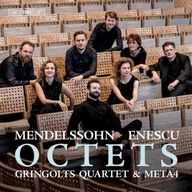 Mendelssohn_Enesco_Quatuor Gringolts_Quatuor Meta4_BIS