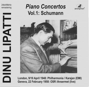 Dinu Lipatti_concertos_Archiphon_vol. 1