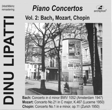 Dinu Lipatti_concertos_Archiphon_vol. 2