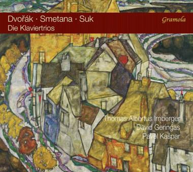 Antonín Dvořák_Bedřich Smetana_Josef Suk_trios avec piano_Kašpar–Irnberger–Geringas_Gramola