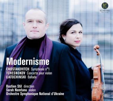 Modernisme_Orchestre symphonique national d'Ukraine_Bastien Stil_Sarah Nemtanu_Klarthe