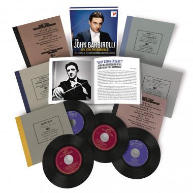John Barbirolli_New York Philharmonic_enregistrements RCA Victor et Columbia