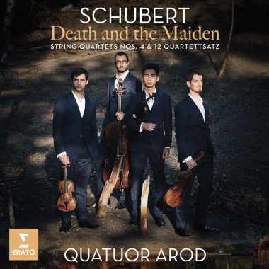 Schubert_Quatuor-Arod_Erato