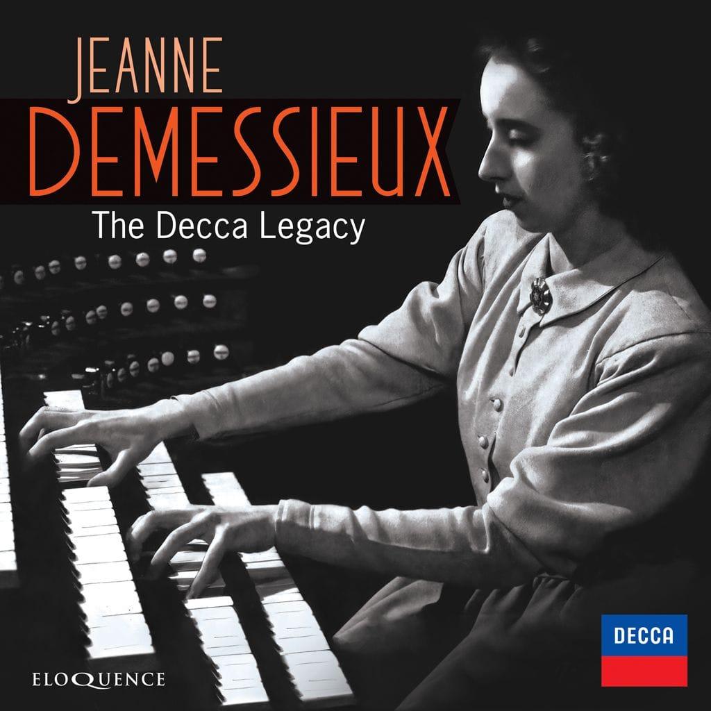 L'héritage discographique de l'organiste Jeanne Demessieux chez Decca